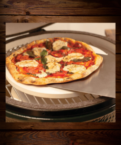 Flat Pizza & Baking Stone 21""